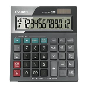 Canon AS220RTS Calculator