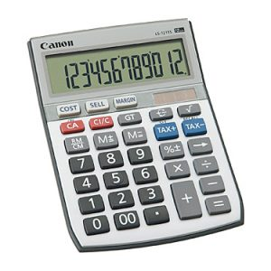 Canon LS121TS Calculator