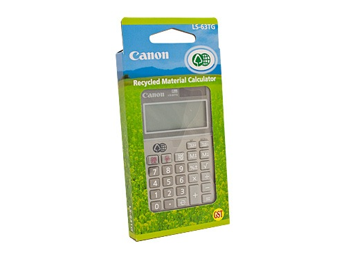 Canon LS63TG Calculator